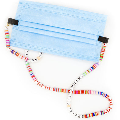 Personalized Face Mask Lanyard with Clips - Hannah B by Hannah Bender
