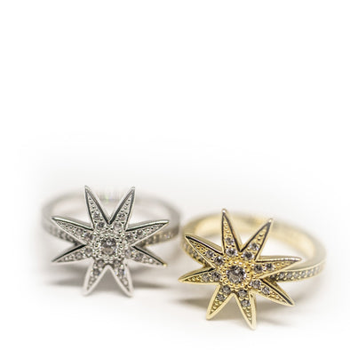 Star Burst Ring - Hannah B by Hannah Bender
