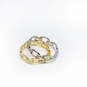 The Chain Link Ring - Hannah B by Hannah Bender