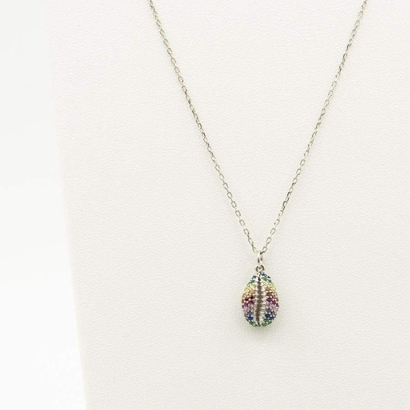The Rainbow Shell Necklace - Hannah B by Hannah Bender