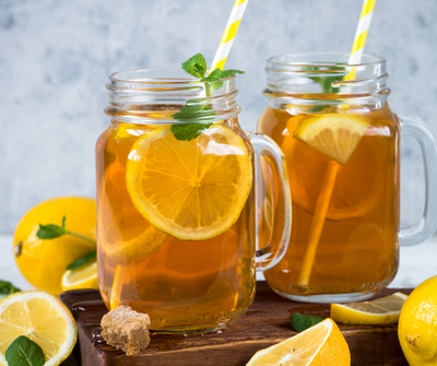 Harriet's perfect pick-me-up  Iced Tea