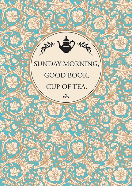 'Sunday Good Book Cup of Tea'