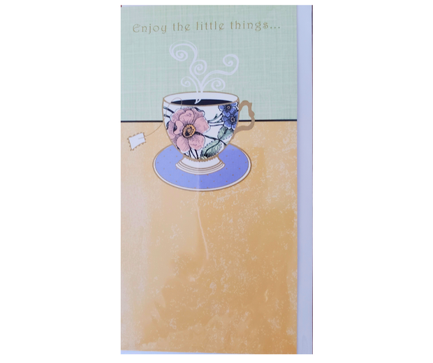 'Enjoy The Little Things....' Card