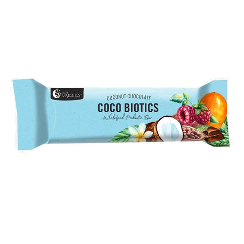 Energy Bar - Nutra Organics Coco Biotics Probiotic, 45g