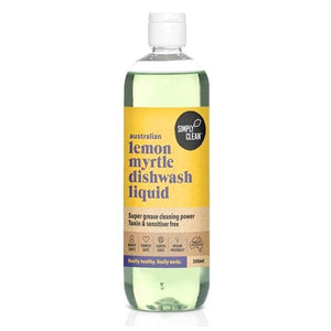 Dishwashing Liquid - Simply Clean, Lemon Myrtle, Bulk