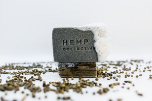 Soap - 'HempChar' Hemp Oil + Activated Charcoal, Hemp Collective