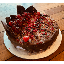Load image into Gallery viewer, Cake - Deluxe Organic Raspberry, Raw Vegan Gluten-Free