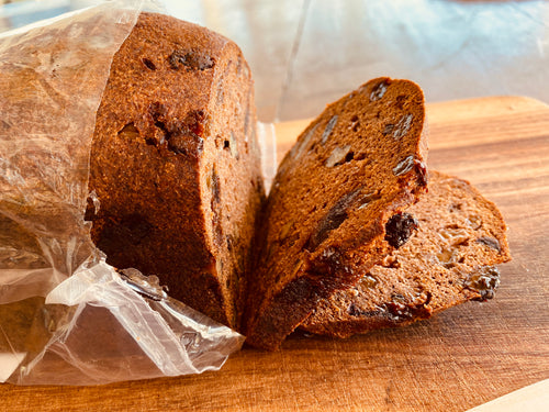 Bread - Date, Raisin + Walnut Loaf, No Grainer, Gluten-Free Paleo