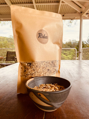 Toasted Muesli - Maca, Maca and Cranberry GLUTEN FREE - Rider Homemade