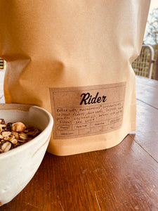 Toasted Muesli - Maca, Maca and Cranberry - Rider Homemade