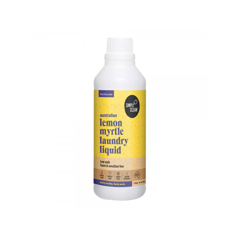 Laundry Liquid - Simply Clean, Lemon Myrtle, Bulk