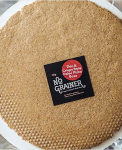 Pizza Base - No Grainer, Gluten-Free Paleo, Double Pack
