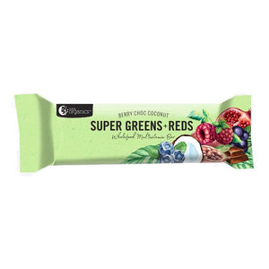 Energy Bar - Nutra Organics Super Greens & Reds Multivitamin, 45g