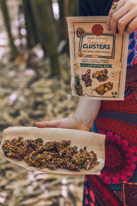 Tropical Clusters w Lemon Myrtle - Organic, Mindful Foods, 200g