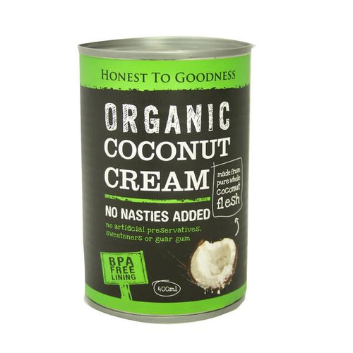Coconut Cream - Organic 400ml