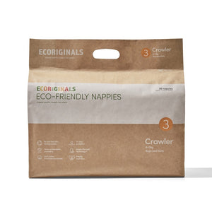 Nappies - Ecoriginals, Crawler, 6 - 11 Kg (26 pack)