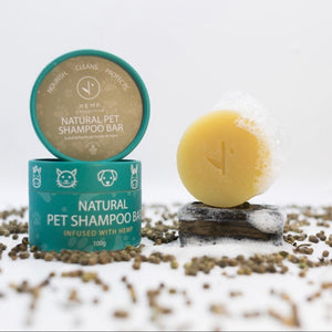 Pet Shampoo - Natural Hemp Bar, Hemp Collective