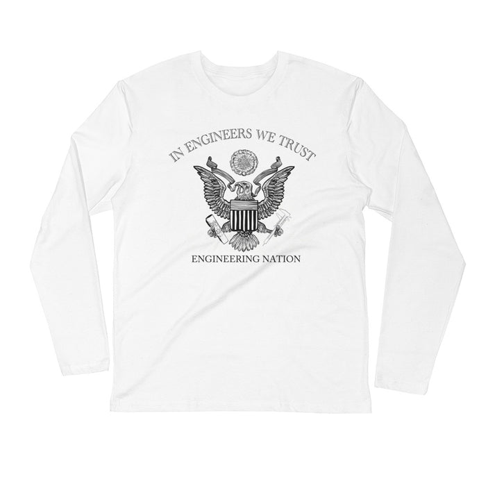 Engineering Nation Long Sleeve Fitted Crew