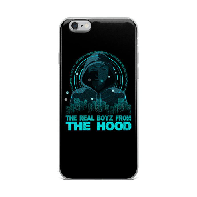 The Real Boyz From The Hood iPhone Case