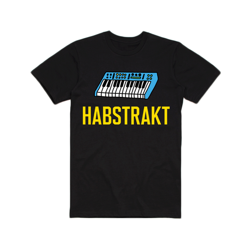 KEYBOARD GRAPHIC TEE (BLACK)