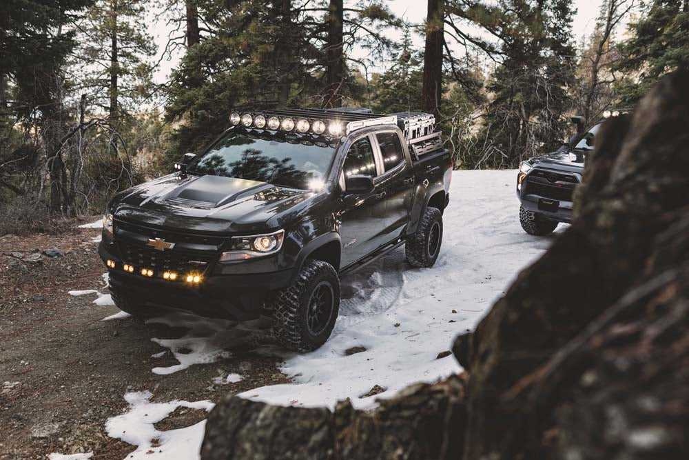 Chevrolet & GMC KC Off-Road LED Lite and Rack Systems