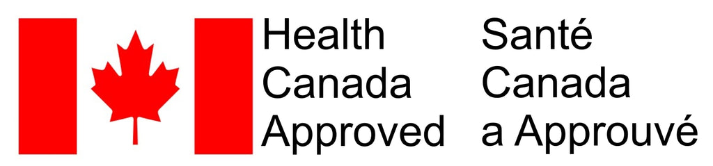 Health Canada approved stamp