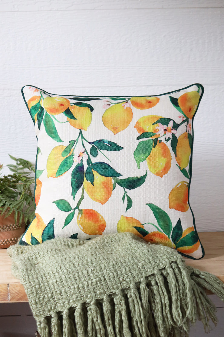 Lemon Patern pillow