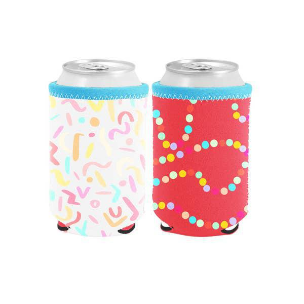Reversible Can Cooler Sugar Rush