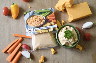 Cheesy Veggie Dip Mix