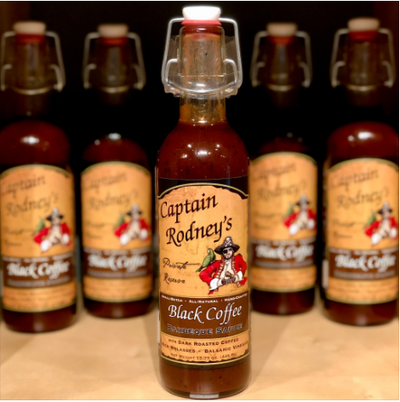Captain Rodney's Private Reserve - Black Coffee Barbecue Sauce