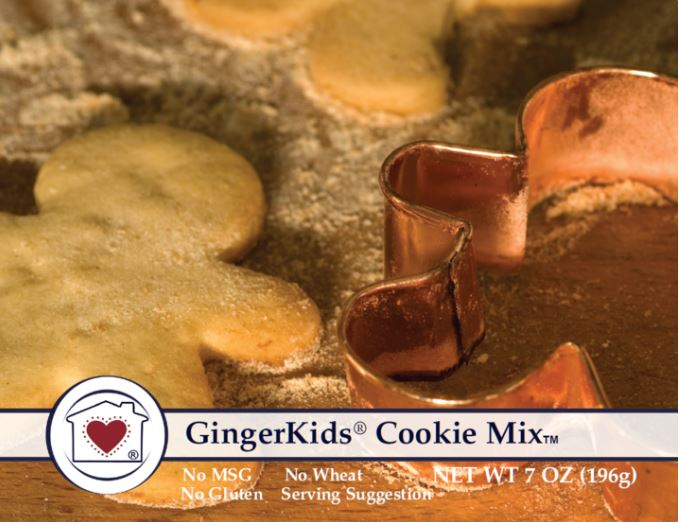 Gingerkids Cookie Mix