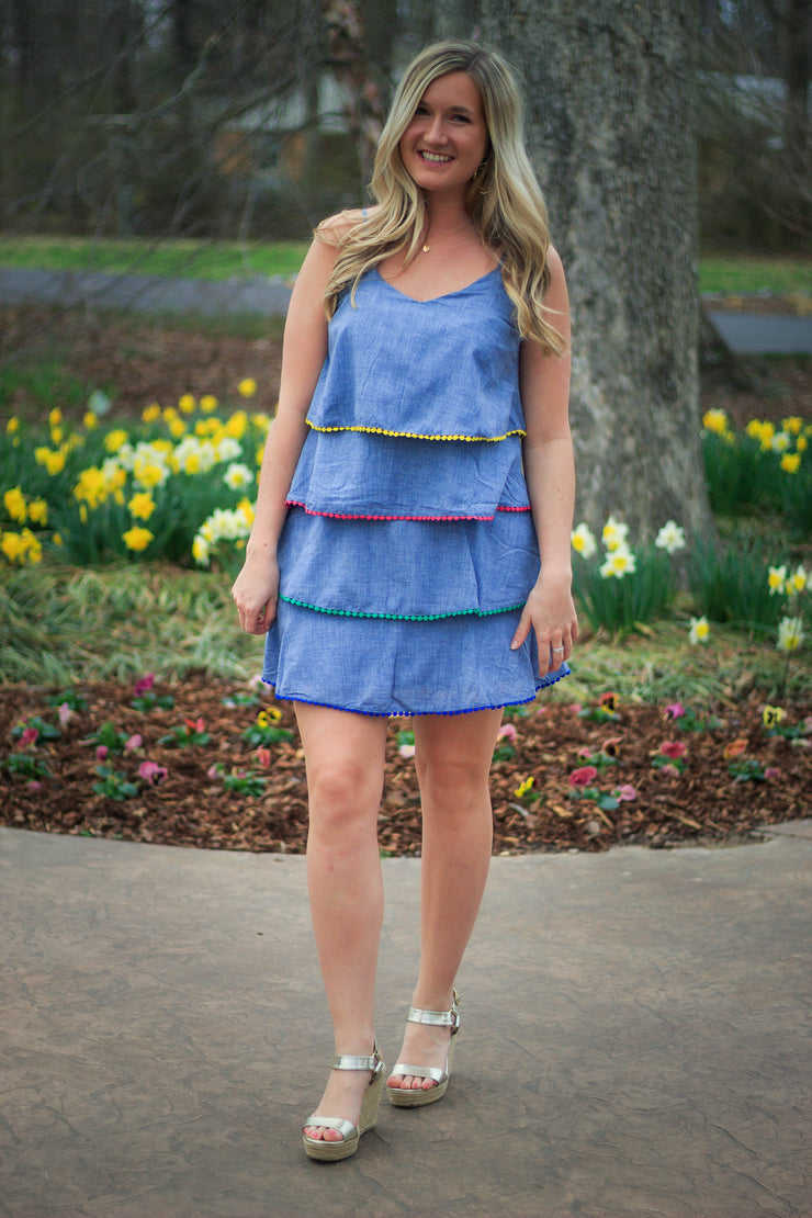 New On The Colorblock Dress