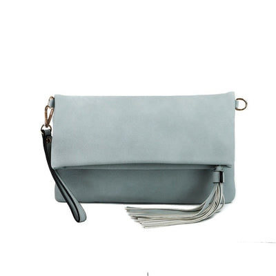 Treasure Me Clutch l Powder Blue