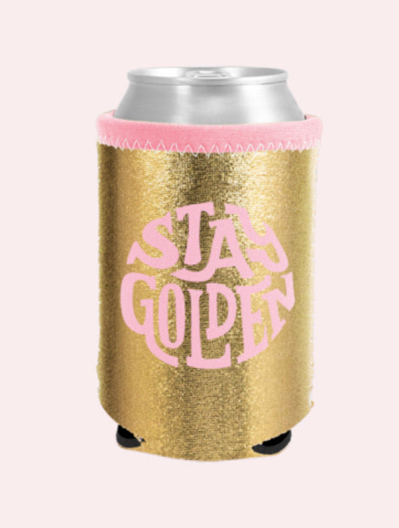 Stay Golden Coozie