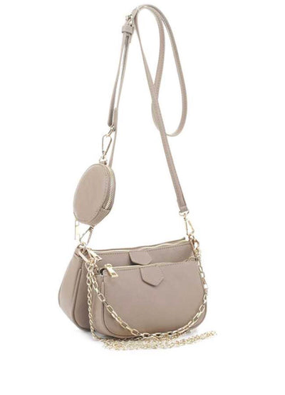Here And Now Bag l Light Taupe