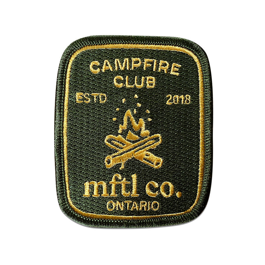 Campfire Club Patch