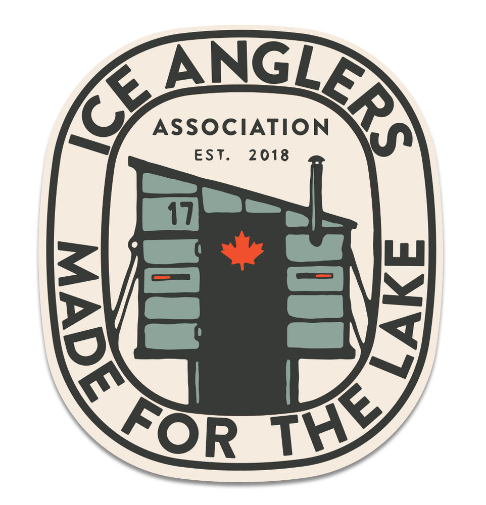 Ice Angler Sticker