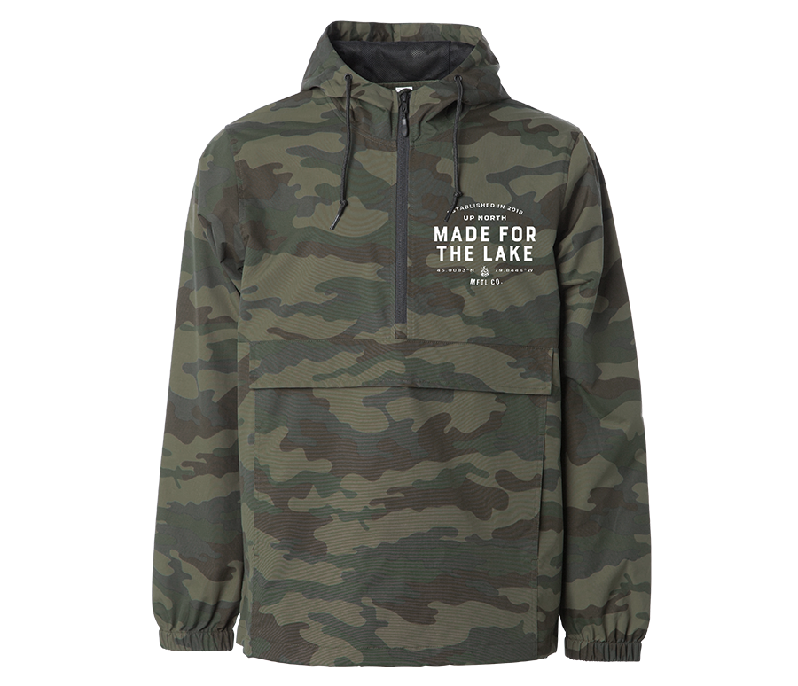 The Anorak Jacket - Camo Edition
