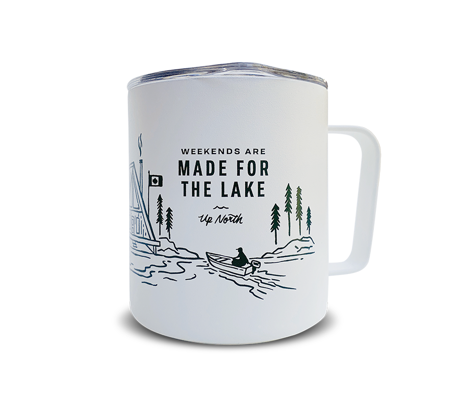 The Weekend Camp Mug