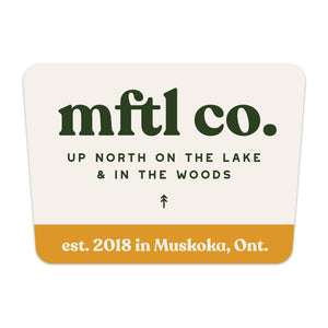 mftl co. Sticker