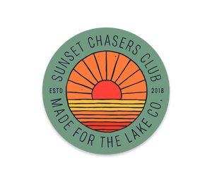 Sunset Chasers Club Sticker