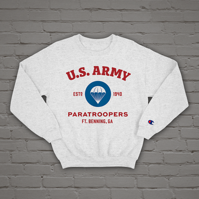 us army airborne sweatshirt