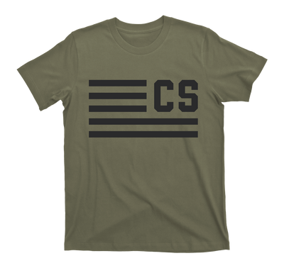 """Flags Forward"" CS Logo Tee"