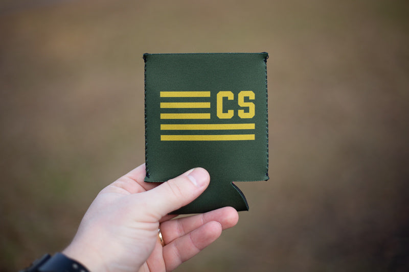 "CivvieSupply ""Flags Forward"" Koozie"