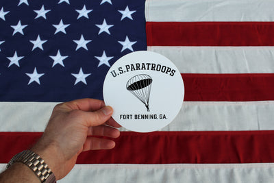 "Paratroops Sticker - 5"" x 5"""