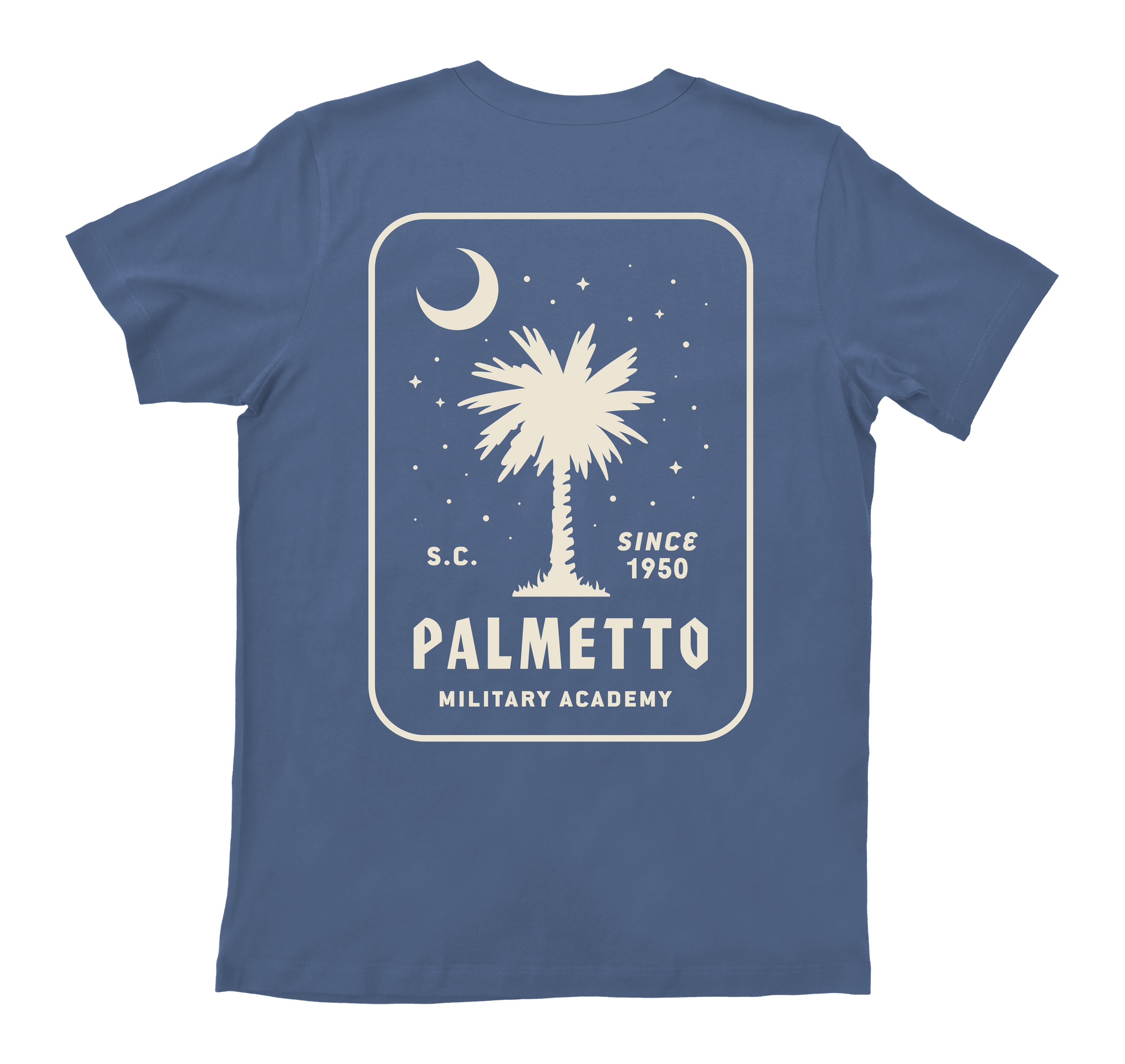 palmetto military academy t-shirt - back