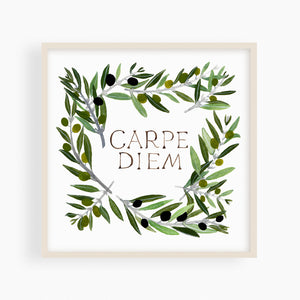 Carpe Diem print - Megan Bentley