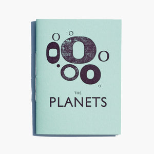 The Planets Letterpress Zine - Megan Bentley