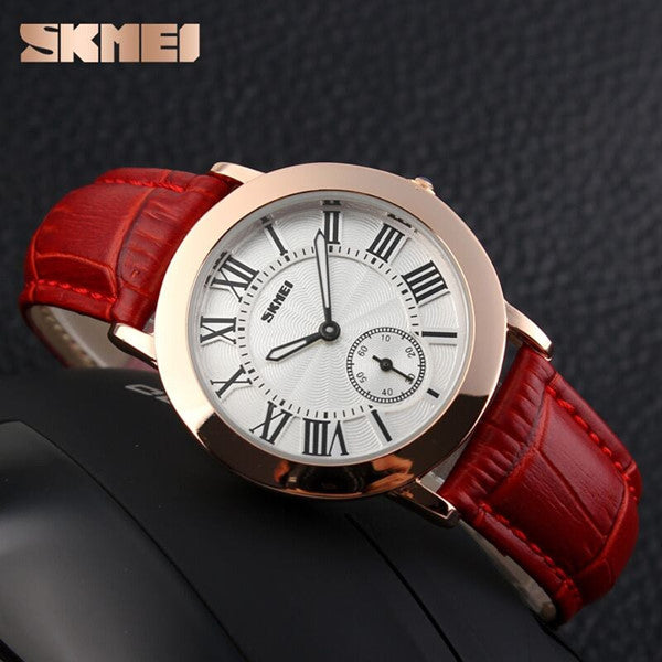 SKMEI Women Ladies Quartz Watch