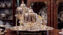 Load image into Gallery viewer, Seven Piece Sterling Silver Tea and Coffee Service - The Antique Guild